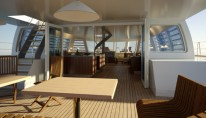 Interior of the Noah 76 Catamaran