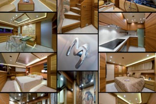 Interior of the new Maiora 27 same series as the Michela  Yacht.png