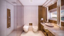 Intermarine 95 superyacht - Bathroom