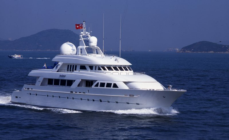 Yacht Island luxury yacht island heiress (ex summerwind) -cheoy lee