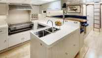 J Class luxury yacht Endeavour - Galley