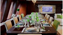 JAde yacht by CRN - Dining table
