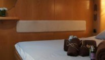 JERI -  Panoramic of starboard aft cabin