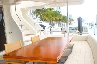 JUSTA VACATION - Aft deck