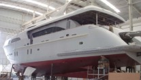 Jafe Tica superyacht under construction