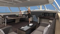 Jongert luxury yacht 3200P - Wheelhouse