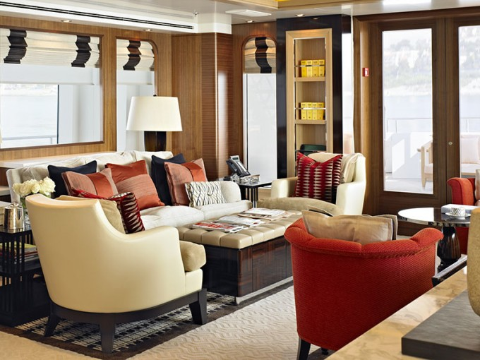 Luxury yacht charter kathleen anne salon lounge for Salon lounge
