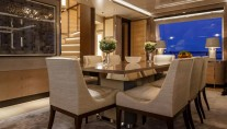 KISS superyacht - Dining