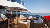 Karia Superyacht Owners Aft Deck