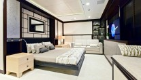 Karia superyacht Guest Room