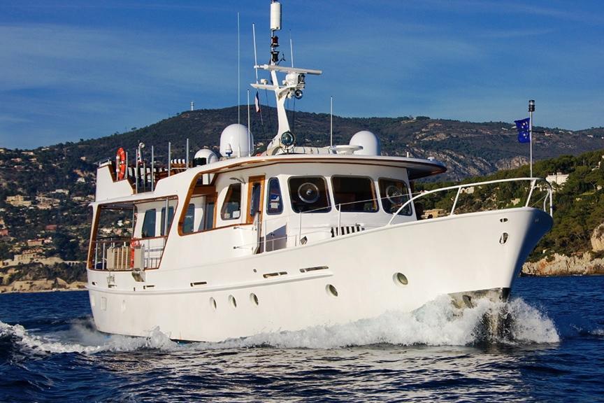 Luxury Yacht Charter Labrador Cruising Feadship