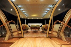 LADY B -  Deck Salon looking aft