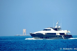 LADY DIA yacht - Photo by Roberto Malfatti