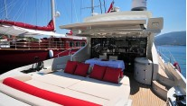 LADY IN RED Azimut 68S Aft