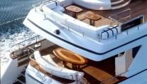 LADY P  -  Aft Deck and Sundeck