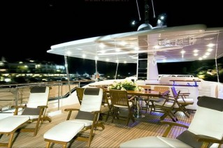 LADY VICTORIA - Sundeck at Night