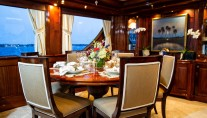 LADY VICTORIA Yacht - Formal Dining