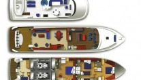 LADY VICTORIA Yacht - Layout