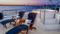 LADY VICTORIA Yacht - Sundeck and Jacuzzi