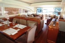LES -  Saloon looking aft