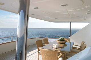 LET IT BE -  Aft Deck Dining
