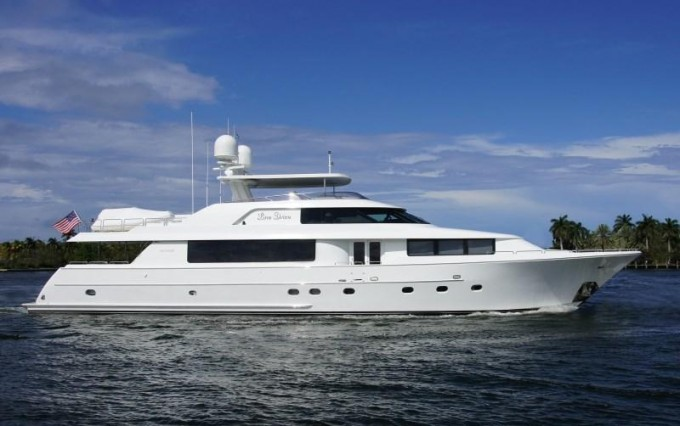 Motor yacht SOMETHING SOUTHERN (ex Forever Clarity, Line Drive)