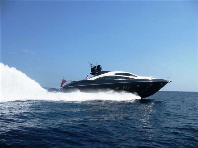 Luxury Yacht Charter Low Profile Cruising Sunseeker