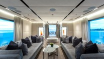LUXURY YACHT OURANOS - SALOON