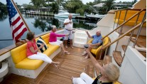 LYMAN MORSE Yacht EXCELLENCE -  Aft Deck Seating