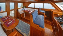 LYMAN MORSE Yacht EXCELLENCE -  Salon and Dining