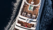 Lady Candy superyacht - Decks - Photo by Jeff Brown Superyacht Media