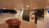 Lady Sofia -  Aft Deck at Night
