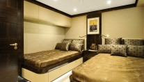 Lady Tahiti superyacht - twin guest stateroom