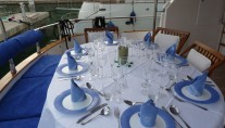 Lady Tatiana of London -  Aft Deck Dining