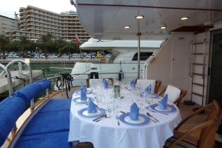Lady Tatiana of London -  Aft Deck