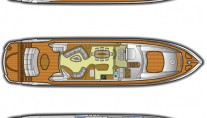 Lady Zehava yacht - Layout