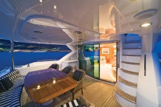 Lady Zehava yacht main deck