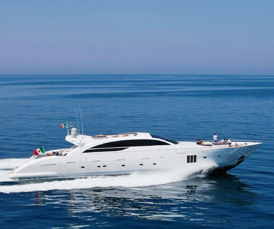 Motor Yacht Lakedaimon Tecnomar Velvet 36