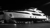 Launch of Benetti motor yacht DYNA