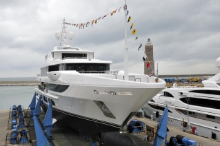 Launch of Surpina Yacht