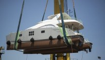Launch of fourth 60 Sunreef Power yacht MEOW