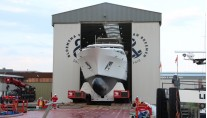 Launch of superyacht BN141