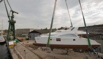 Launch of the 8th 70 Sunreef Power Yacht CLOUD
