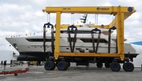 Launch of the Sanlorenzo SD122 superyacht Alchemist Too