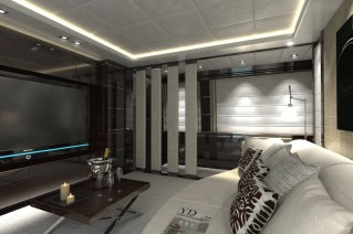 Leopard 46 TUTTO LE MARRANE yacht - Media room