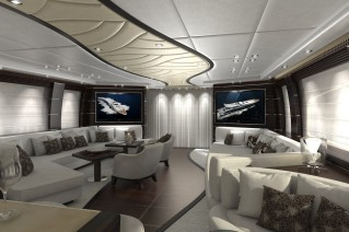 Leopard 46m Superyacht Tutto Le Marrane - Main Saloon