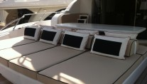 Leopard ADDICTION -  Aft Deck Sunpads