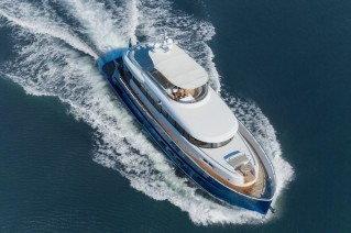 Libertas Yacht from above