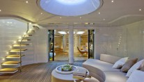 Light and Airy interior of the sailing yacht Panthalassa