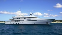 Limited Adition 177 Amels yacht rendering - sistership to superyacht Spirit